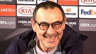 Maurizio Sarri Full Pre-Match Press Conference - Malmo v Chelsea - Europa League