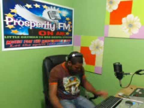 ''PRAISE WITHOUT LIMIT'' 1,12, 2013 ON PROSPERITY FM IN CAYMAN WITH DJ ROBERT