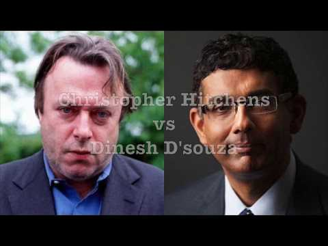 Christopher Hitchens vs Dinesh D'souza (Pascal's Wager)