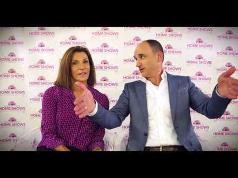 Hilary Farr and David Visentin from HGTV's