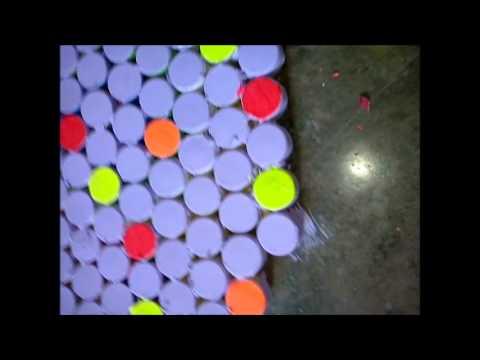Creatividad tapas plasticas youtube for Casetas plasticas para jardin