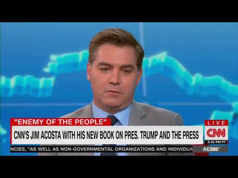 Acosta issues warning to 'conservative media'