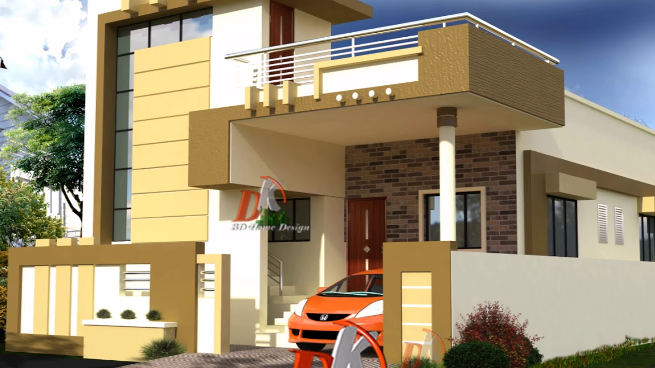 Front Elevation Of House Single Story : Best single story front elevation youtube