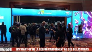 Les start-up de la région cartonnent au CES de Las Vegas