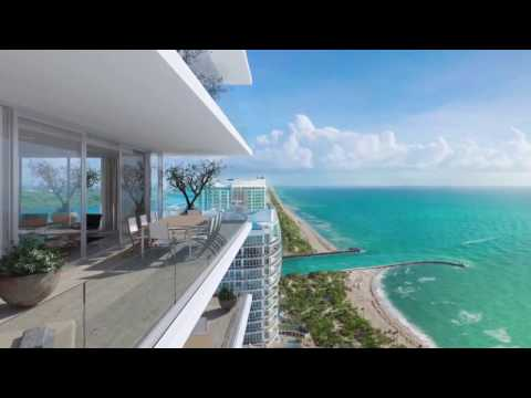 Oceana Bal Harbour - Drone Interior Exterior Fly Through