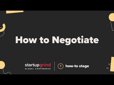 How to Negotiate  —  Christina Sevilla (Deputy Asst. U.S. Trade Rep for Small Business)