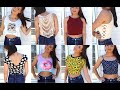 My CROP TOP Collection 2016!!