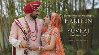 Harleen & Yuvraj - Cinematic Overnight & Same Day Highlights