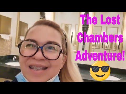 ATLANTIS ADVENTURE (The Lost Chambers Aquarium)  Vlog6  #atlantisdxb