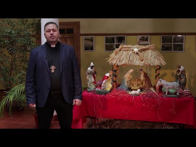 Різдвяне привітання о. Юрія Щурка