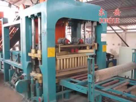Quy trình sản xuất gạch dòng máy QT10-15 Shandong Dongyue