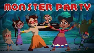 Chhota Bheem Monster Party | Halloween Special