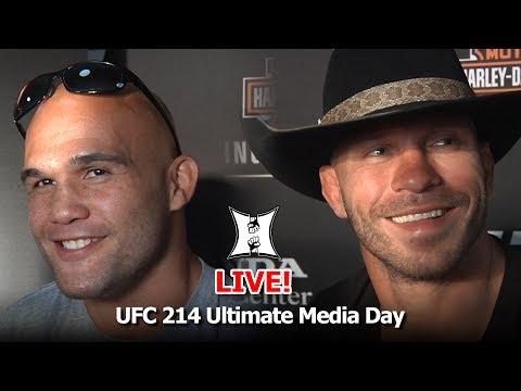 UFC 214 Ultimate Media Day: Robbie Lawler, Donald Cerrone, Jimi Manuwa +More! (LIVE)