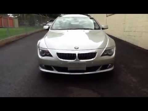 2008 BMW 650i Sport Package Coupe for sale