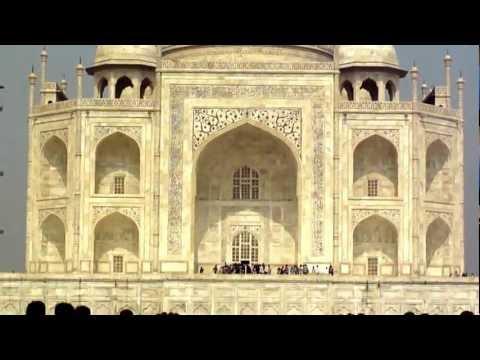 Taj Mahal, the mausoleum of Mumtaz Mahal, on the bank of the  river Yamuna in Agra, Uttar Pradesh, India; 23rd February 2012