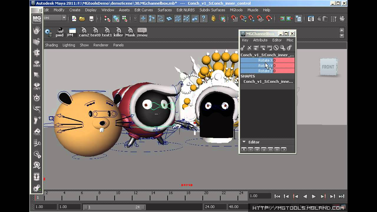 Scripts: My Top 5 Maya Scripts & Toolsets for Animators! · The