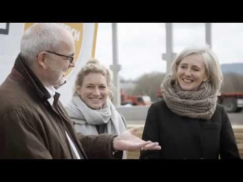 Spatenstich Unseres Geplanten Einrichtungshauses In Rastatt Youtube