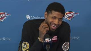 Thunder Exit Interviews: Paul George