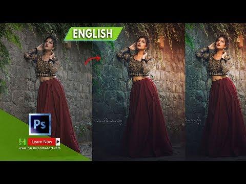 Fashion Editing Photoshop || Fashion Portrait Retouching and Color Grading -English