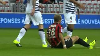 OGC Nice - Fc Girondins de Bordeaux 6-1 (2015-2016) Match Entier