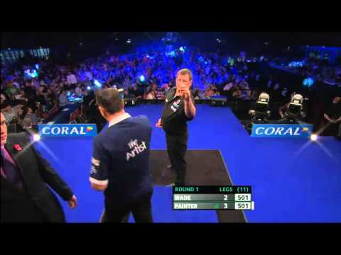 PDC The Masters 2013 - First Round - Wade(5) VS Painter(12)
