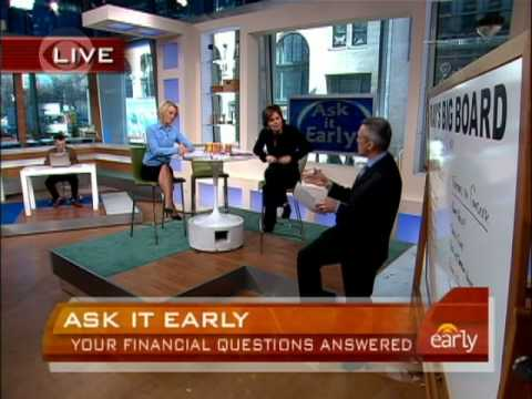 Ask It Early: Your Money