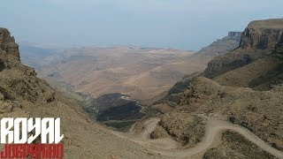Ride to Sani Pass on a BMW R1200GS