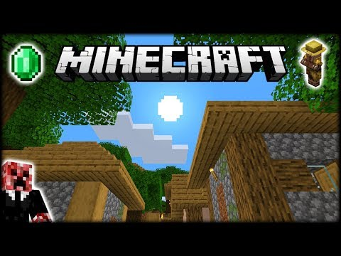 I Found A FORESTED Minecraft Village!   Let's Play Minecraft Survival   Episode 2