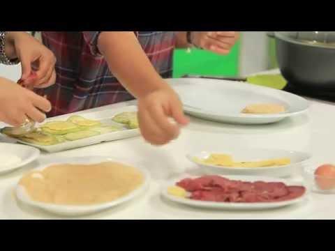 كيكة القرنبيط - دجاج بالليمون المخلل و الجبنة الريكفورد | نص مشكل حلقة كاملة