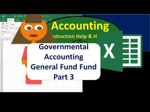 General Fund Part 3 Statement of Revenues, Expenditures and Changes