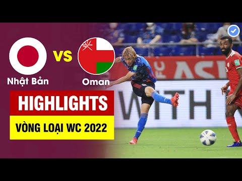 Highlights Nhật Bản vs Oman   Sao Nhật Bản cứa lòng tuyệt đẹp - Oman tạo cơn địa chấn