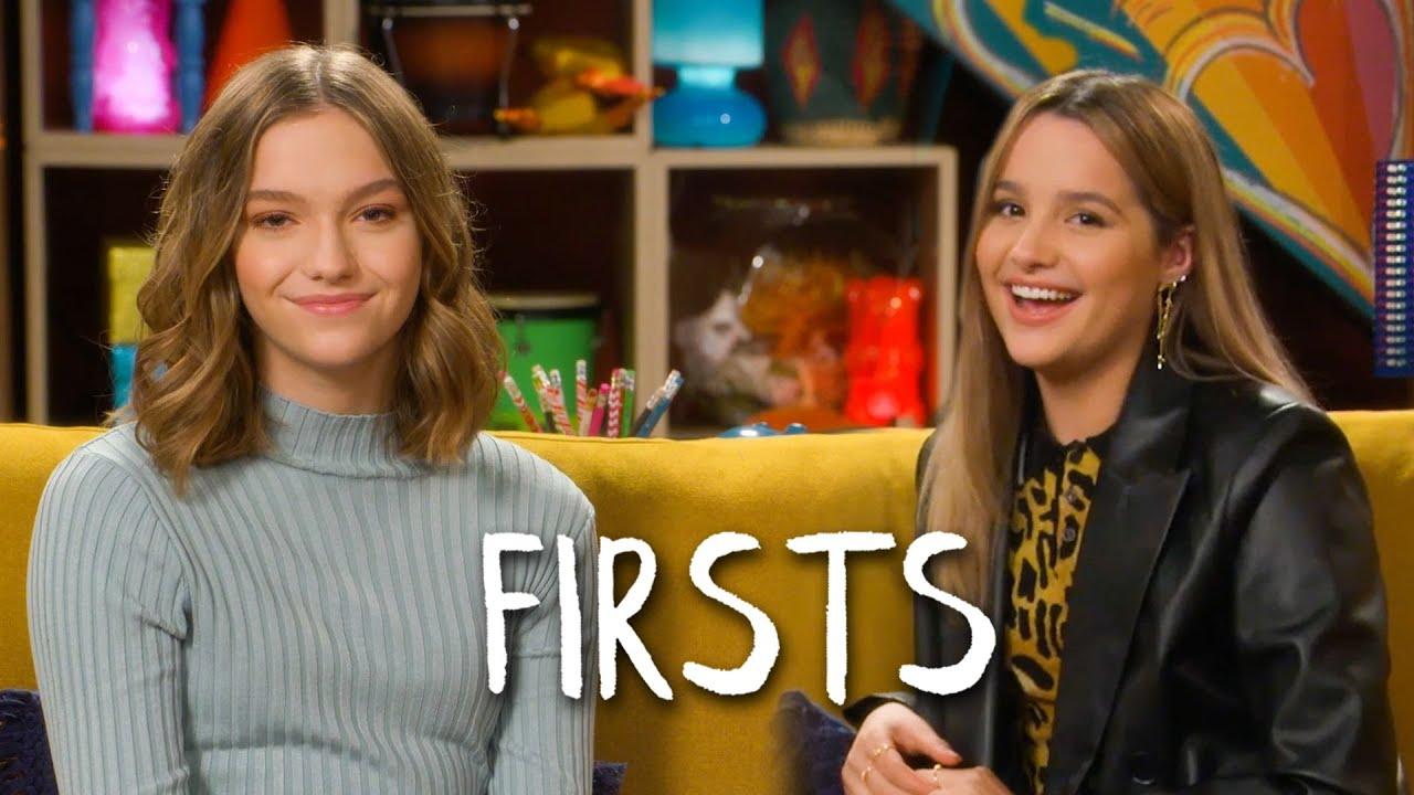 Annie LeBlanc & Jayden Bartels Share Their Firsts | Teen Vogue