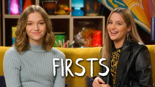 Annie LeBlanc & Jayden Bartels Share Their Firsts | Teen Vogue