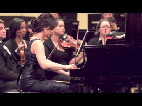 Jennifer Hermann & The Olympia Symphony Orchestra - Mozart Piano Concerto