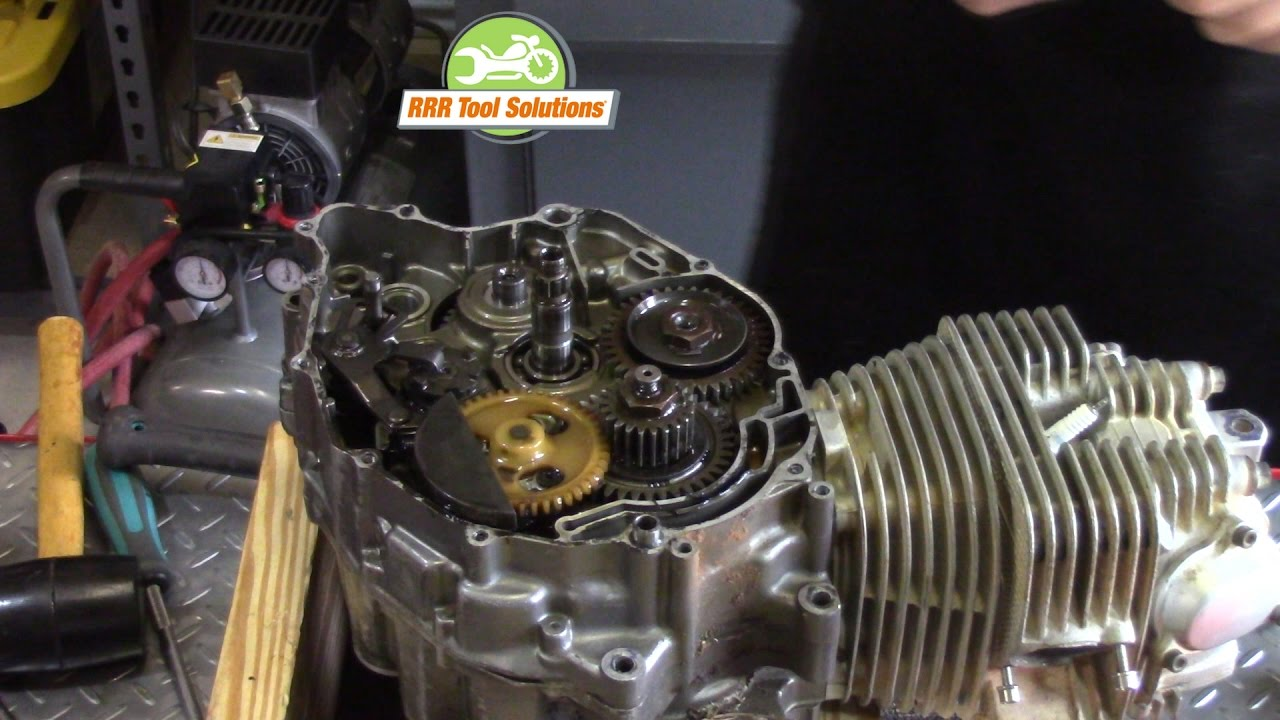 Motorcycle Engine Rebuild The Tear Down