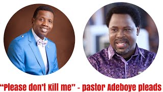 Why Pastor Adeboye Does Not Want To Be Associated With TB Joshua