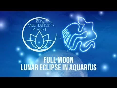 Full Moon Lunar Eclipse in Aquarius - Personal Harvest Meditation, Deep Sleep