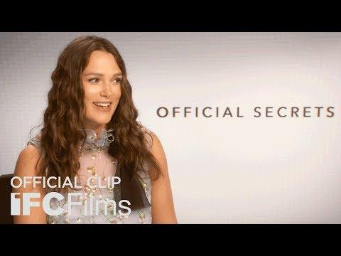 Official Secrets - Keira Knightley Interview I HD I IFC Films