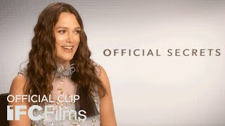 Official Secrets - Keira Knightley Interview I HD I IFC Films