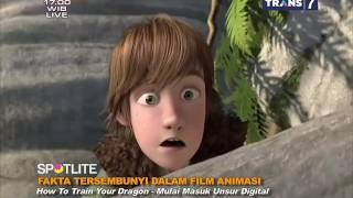 fakta tersembunyi dalam film animasi spotlite trans 7