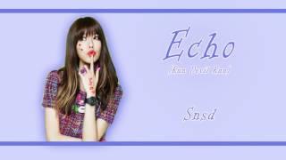 [Rom/Han/Eng] Snsd - Echo Lyrics