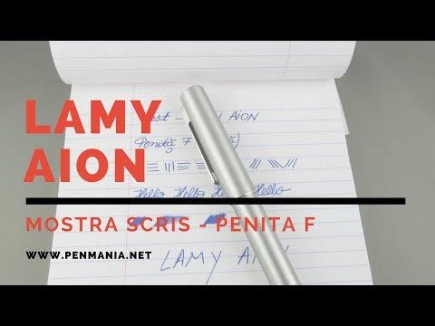 LAMY aion - mostra scris - penita F