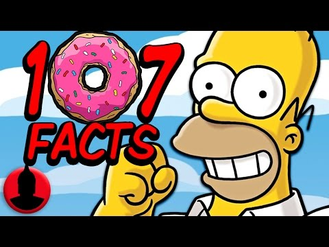 107 Simpsons Facts Everyone Should Know! (ToonedUp #8)