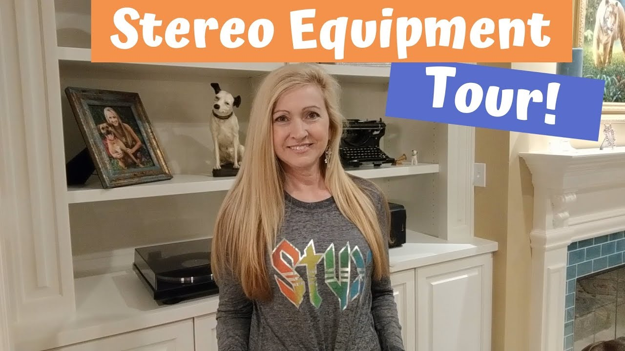 Vinyl Community - Stereo Equipment and Listening Room Tour - Music Room -  YouTube