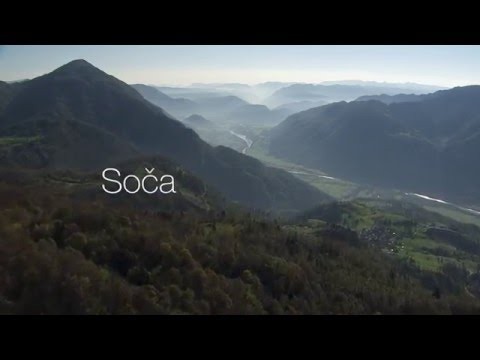 Soca valley from above (Land of the living water)