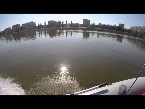 Измерение скорости .Лодка Флагман 320 +Suzuki DF6