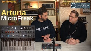 Thomann's Synth Reactor vlog#5 - Arturia MicroFreak #TSR19