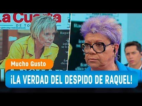 Paty Maldonado cuenta la verdad sobre el despido de Raquel Argandoña en Canal 13 - Mucho Gusto 2019
