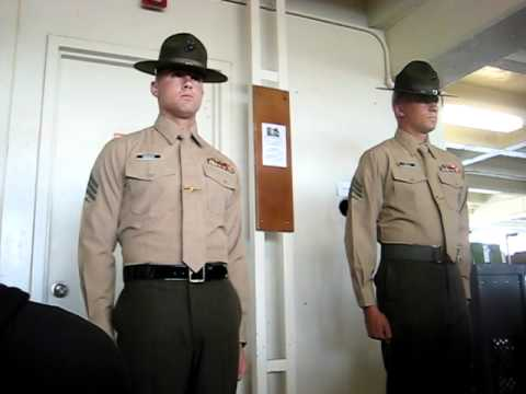 Marine Educator's Week: Meeting the Drill Instructors