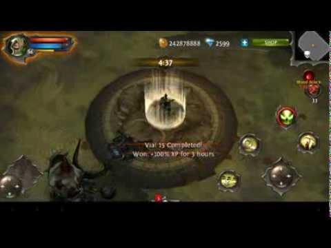 Dungeon Hunter 4 - Blood Match - 130 Million Blood Score - Sentinel Level 86 3M-DPS